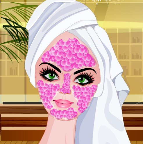 Barbie Spa Make Over