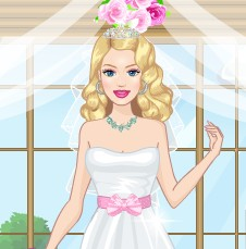 Bride Beauty Dress Up