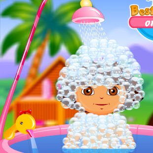 Baby Dora Fun Bathing