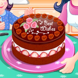 Chocolate Torte Cooking