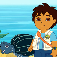 Go Diego Go - Tuga The Sea Turtle