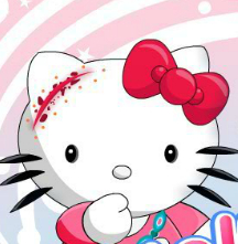 Hello Kitty Wound Treatment