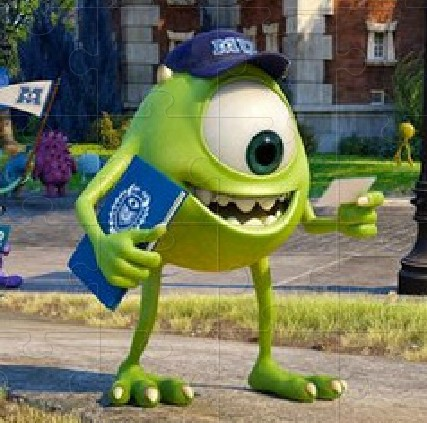 Monsters University Jigsaw Puzzle
