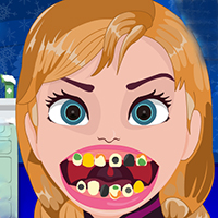 Frozen Anna Dentist Time