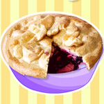 Apple White's Apple and Blackberry Pie
