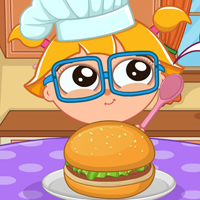 CuteZee's Cooking Academy: Burger