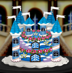 Diamond Castle Cake Decorating