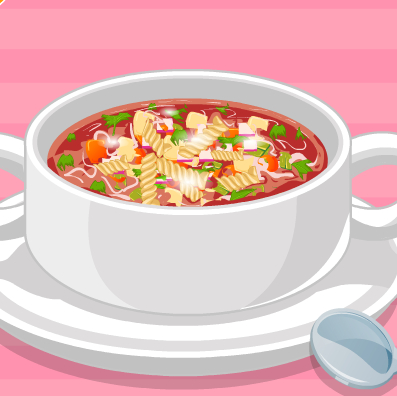 Minestrone Soup Cooking