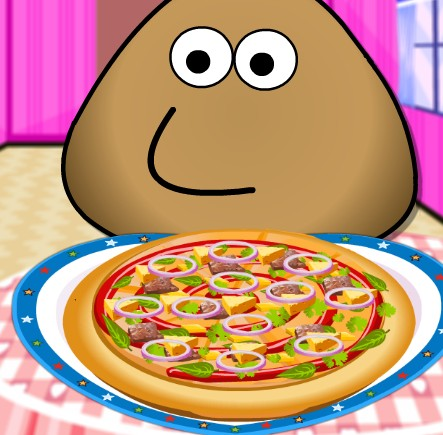 Pou Pizza Cooking
