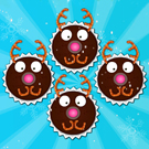 Rudolph Red Nose Cupcakes