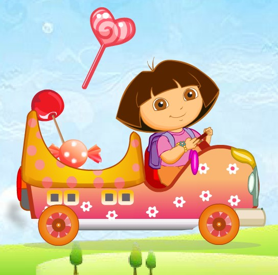 Baby Dora Candy Transport