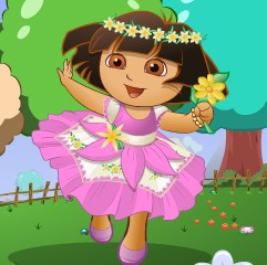 Baby Dora Flower World