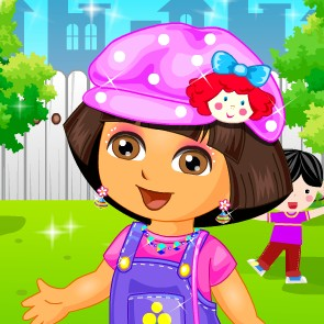 Baby Dora Kindergarten Dress Up