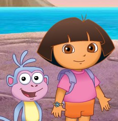 Baby Dora The Secret Rainbow