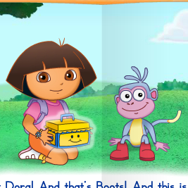 Baby Dora The Thankful Old Troll