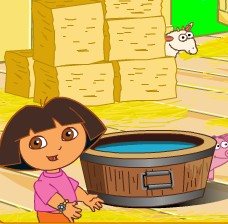Dora go to The Farm
