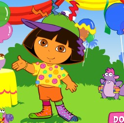 Dora Silly Dress Up