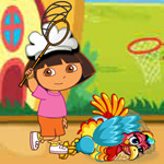 Dora ThanksGiving Turkey Catching