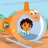 Go Diego Go - Diego Egg Pick Up
