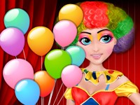 Birthday Clown Makeover