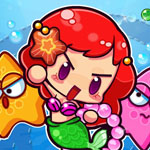 Cute Mermaid Bubble Shooter