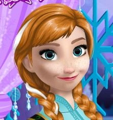 Frozen Anna Makeup