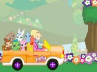 Polly Pocket Jeep