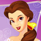 Princess Belle Makeup