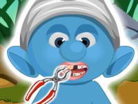 Smurf At Dentist