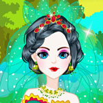Snow White Wedding Dressup