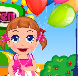 Baby Seven Happy Balloon Party