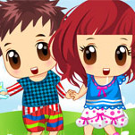 Baby Twins Of Girl And Boy