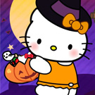 Hello Kitty Halloween Costume Mash Up