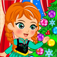Princess Anna Christmas Slacking